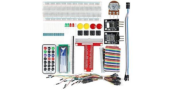 Amazon.com: eDealMax Kits UNO R3 de proyecto básico de arranque placa sin soldadura de arranque Para Arduino: Electronics