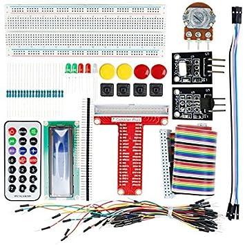 Kits DealMux UNO R3 de proyecto básico de arranque placa sin soldadura de arranque para Arduino: Amazon.es: Electrónica