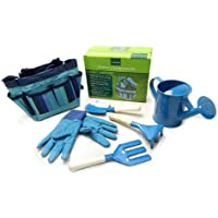 Arvin87Lyly 6 PCS/Set Children Gardening Set Tools Durable Garden Play Game Kits Complete Kids Gardening Metal Tool Bag And Tools