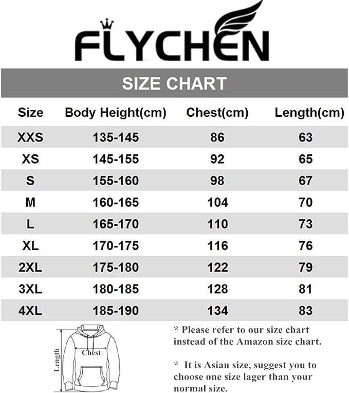 FLYCHEN Femme 3D Pull 3D Fairy Tail Sweats /à Capuche imprim/é Fans Sweat Cosplay d/éguisement Manga Japonais
