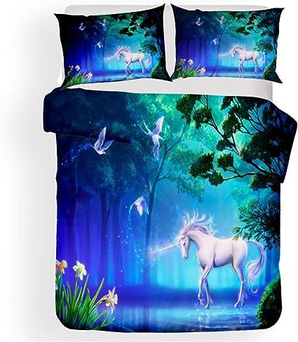 Sticker Superb Cielo Misterioso Unicornio Blanco Caballo Ropa ...