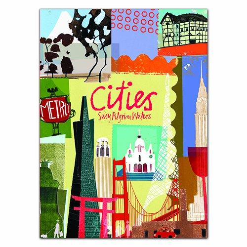 Cities: Long Notecard Boxes -- stationery boxes filled with 20 Notecards for Greetings, Birthdays or Invitations