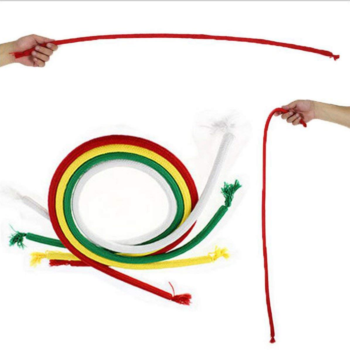 Portable Magic Rope Soft Hard Bend Rope Lightweight Stiff Rope Magician Props Toys Universal Magic Trick Toy DoMoment