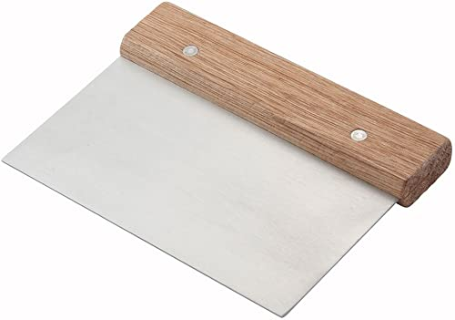 Winware Stainless Steel Dough Scraper