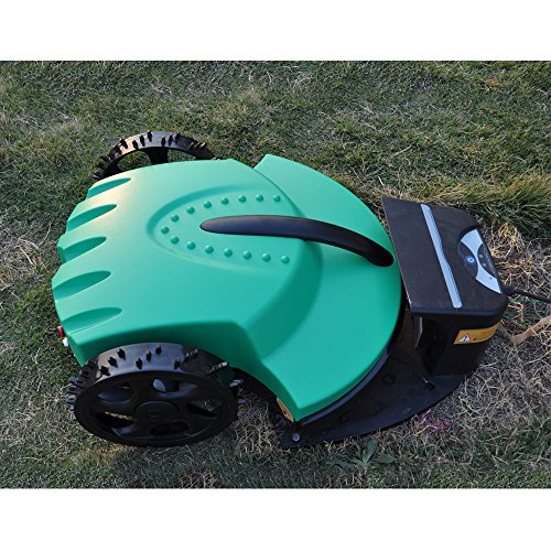 Ancaixin Dark Green Automower Robotic Lawn Mower Wireless Cordless Electric