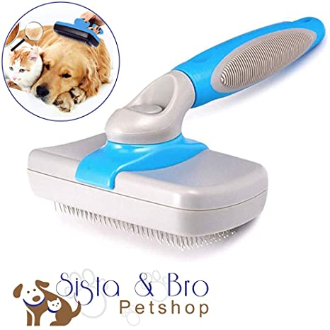 Sista & Bro PetShop Cepillo para Perros y Gatos de Pelo ...