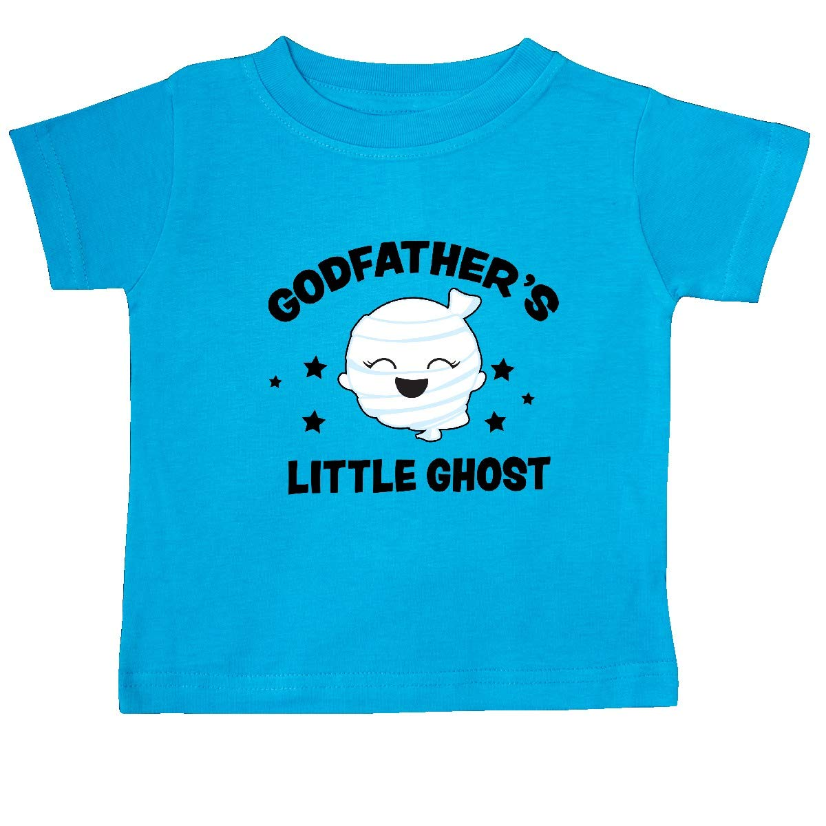 inktastic Cute Godfathers Little Ghost with Stars Baby T-Shirt