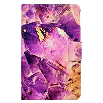 DATOUDATOU Patrón de mármol eBook Caso de New Purple Kindle Fire ...