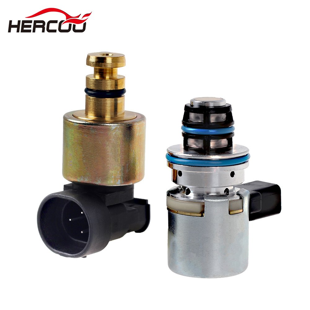HERCOO Transmission Pressure Sensor & Governor Pressure Solenoid Kit 4617210 56041403AA A518 42RE 44RE 46RE 47RE Compatible with 1996-1999 Dodge Ram Jeep Grand Cherokee by HERCOO