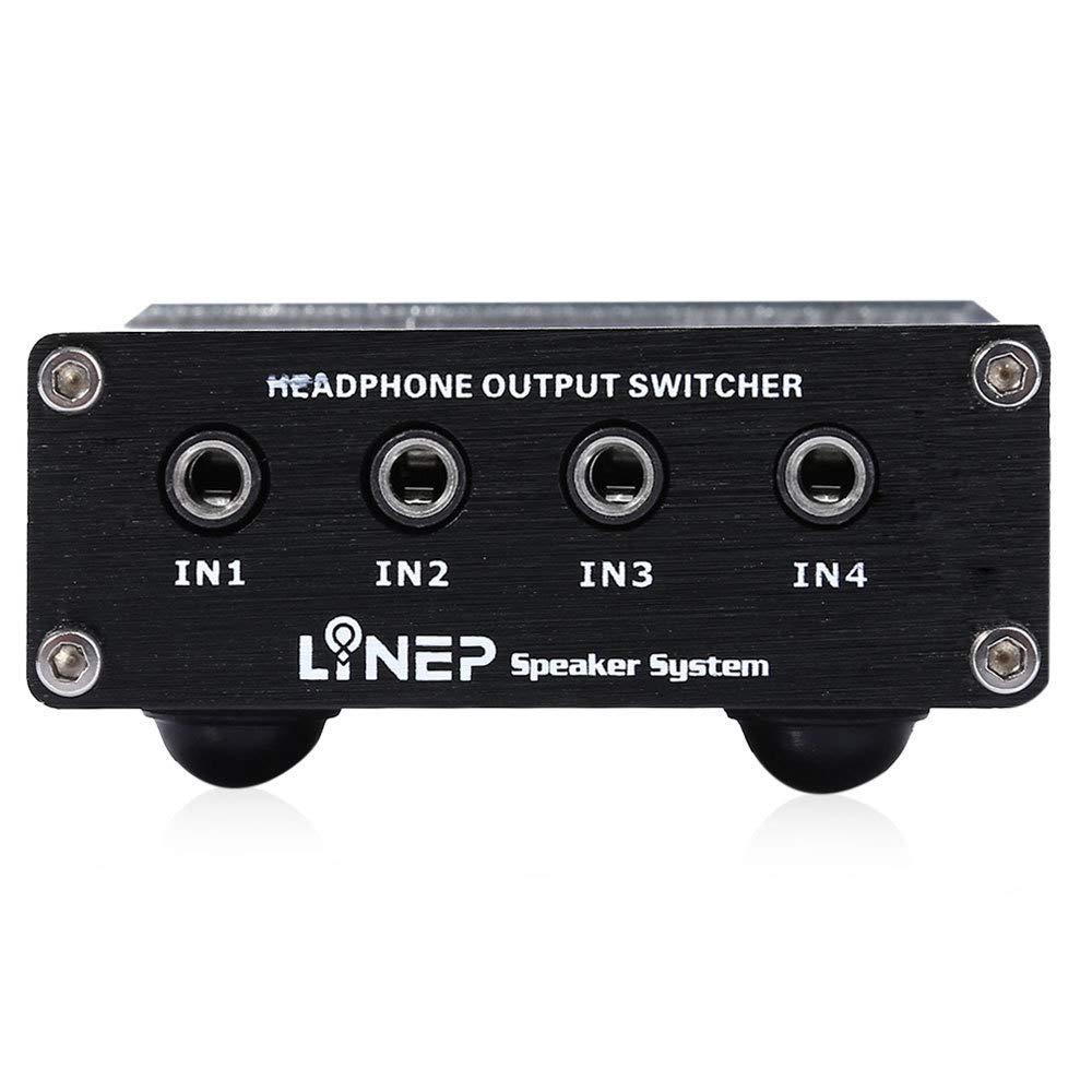 WQGNMJZ Amplificador De Audio Estéreo Portátil Altavoz De Audio Y Video Altavoz Fidelity Switcher: Amazon.es: Deportes y aire libre