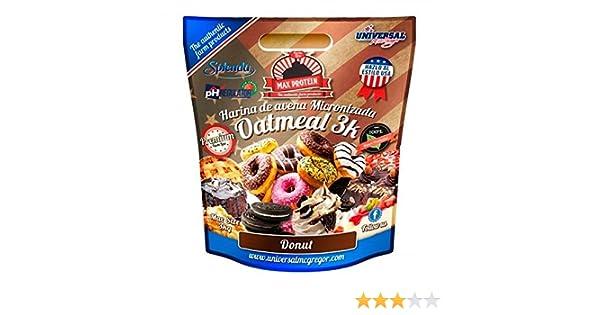 Max Protein Harina de Avena sabor Donut - 3 kg: Amazon.es: Alimentación y bebidas
