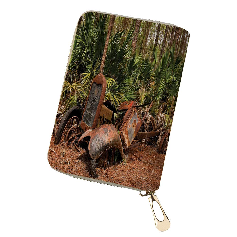 Credit Card Holder Wallets Mule Truck Deep in for Ladies Girls//Gift Box