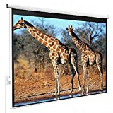 Gracelove 100'' HD Motorized 4:3 Projector Screen W/ Remote Control (100 inch)