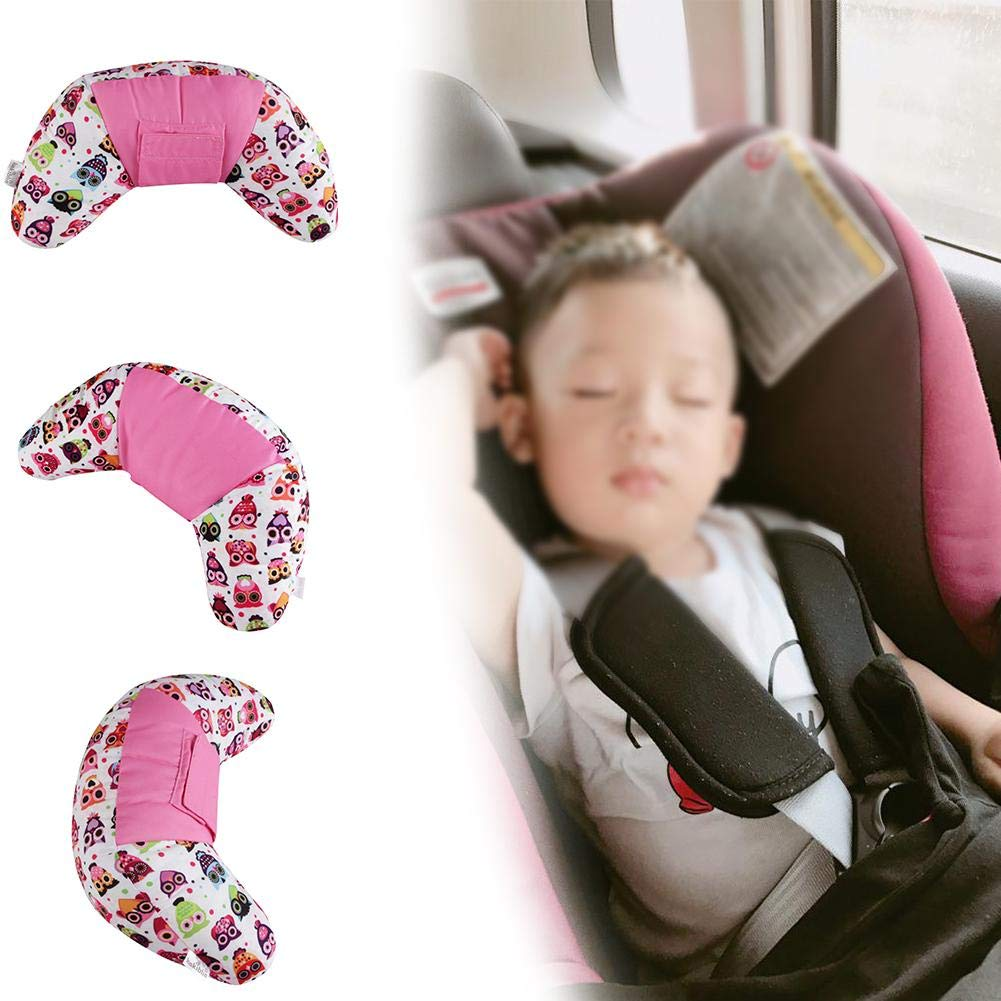 D.ragon Car Seat Travel Pillow for Kids,Seatbelt Pad Headrest Neck Support Sleeping Pillow for Children,Safety Belt Sleeping Cushion for Children,Safety Strap Covers