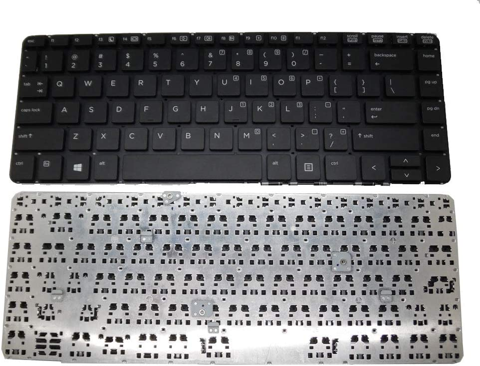 GAOCHENG Laptop Keyboard for HP 440 G0 440 G1 445 G1 SG-59200-XUA SN8125 90.4YZ07.L01 T13052800123 721520-001 711588-001 Without Frame Black United States US