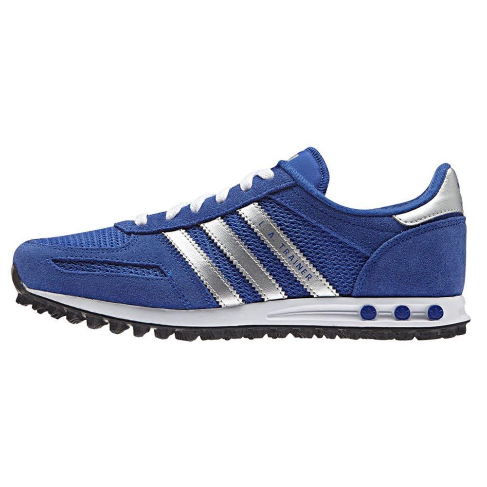 a53a915670 ... Zapatillas adidas – La Trainer J azul/plateado/blanco talla: 35,5