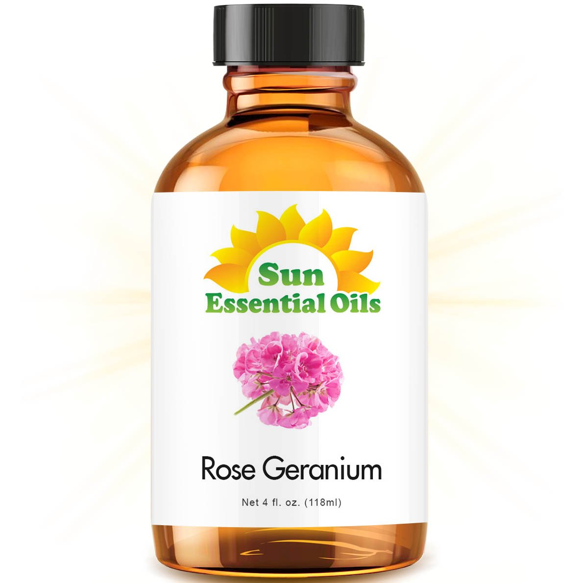 Rose Geranium (Large 4 ounce) Best Essential Oil