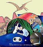 Nifogo Tiendas de ensueño, Carpa de Ensueño Wizard World, fantasía Interior de la Cama Redes de Regalo, Children Play…