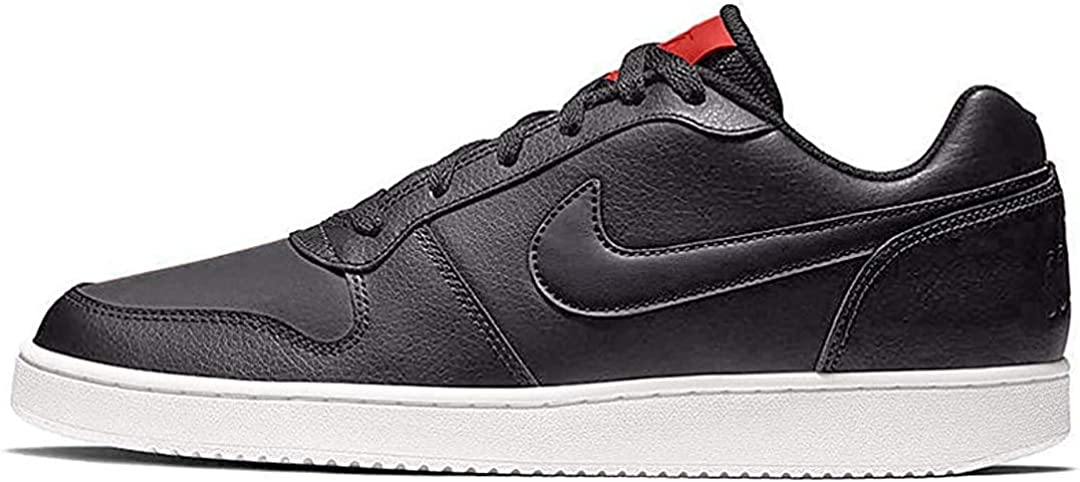 Nike Ebernon Low, Chaussures de Fitness Homme Multicolore Oil Grey Oil Grey University Red White 001