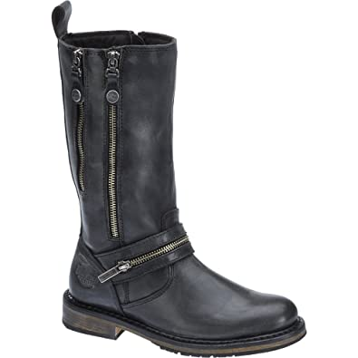 Harley Davidson Women Stiefel SACKETT Black, Schuhgröße:EUR 36