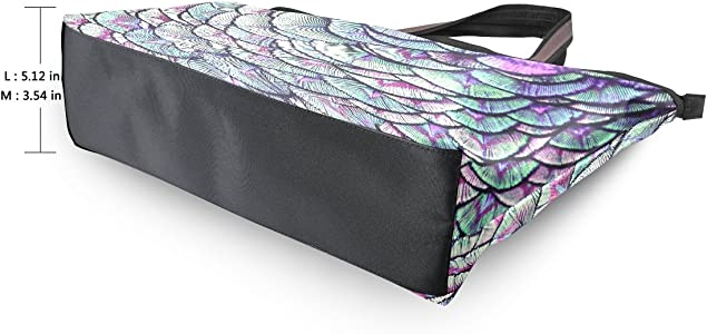 AHOMY Peacock Feather Sports Gym Bag with Shoes Compartment Travel Duffel Bag