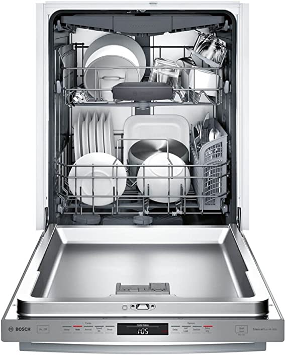 in Stainless Steel Bosch SHXM63WS5N 24 300 Series Built In Fully Integrated Dishwasher with 5 Wash Cycles