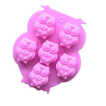Qinlee 3d Eule Form Zucker Fondant Kuchen Form Scherblock Werkzeuge