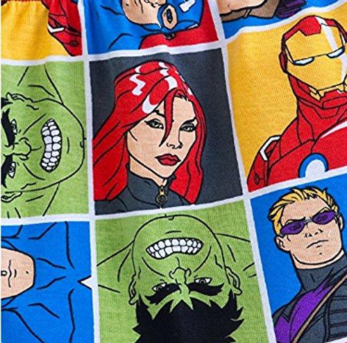 Disney Marvel's Avengers PJ PALS Pajama Short Set for Boys (2) by Marvel (Image #2)