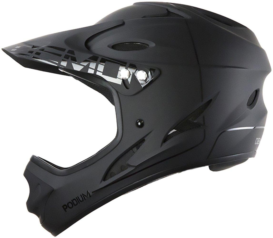 Demon United Podium Full Face Helmet Black/Sm