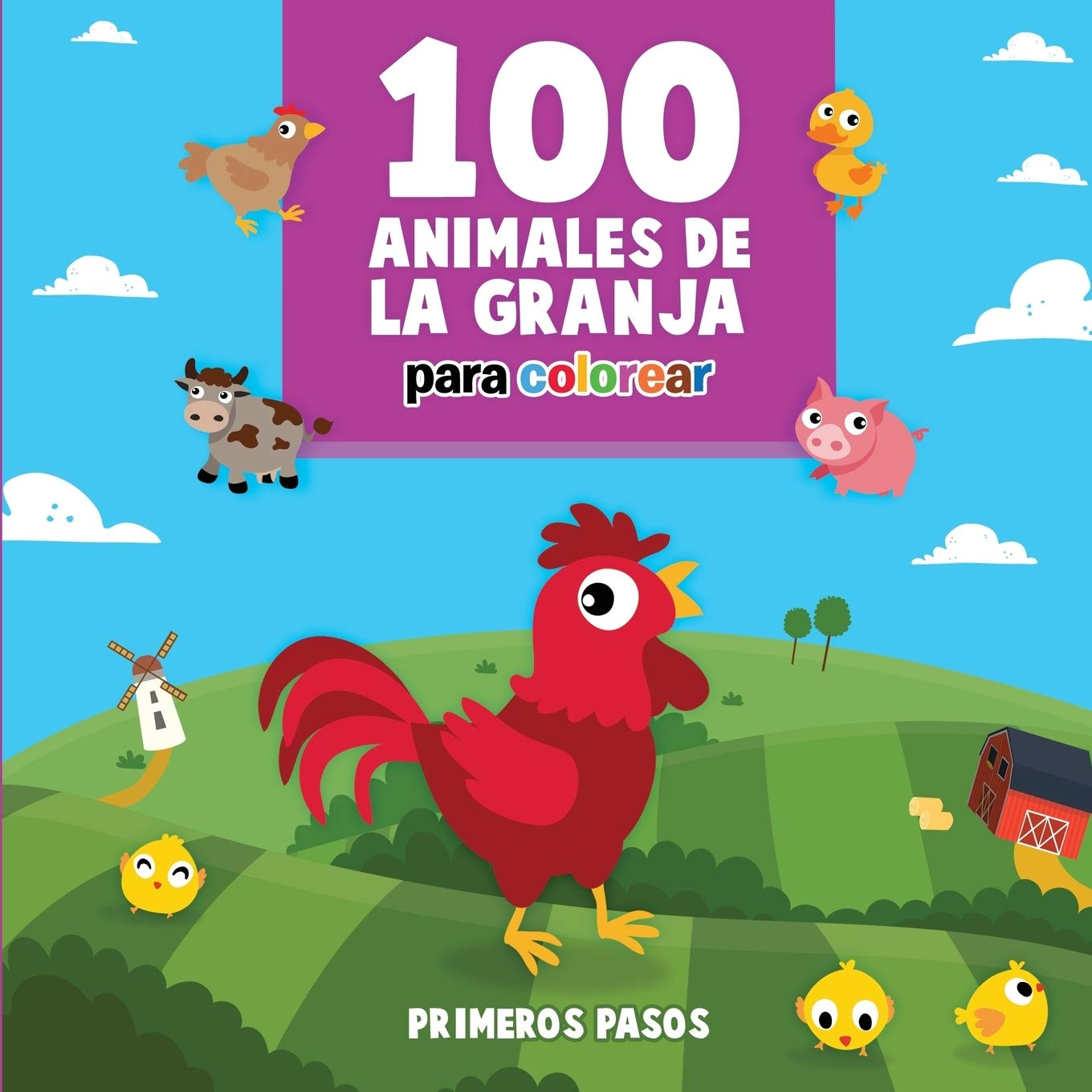 100 Animales De La Granja Para Colorear Libro Infantil Para Pintar 4 Primeros Pasos Amazon Es Pasos Primeros Libros The series is created and produced by guillermo del bosque for televisa. 100 animales de la granja para colorear