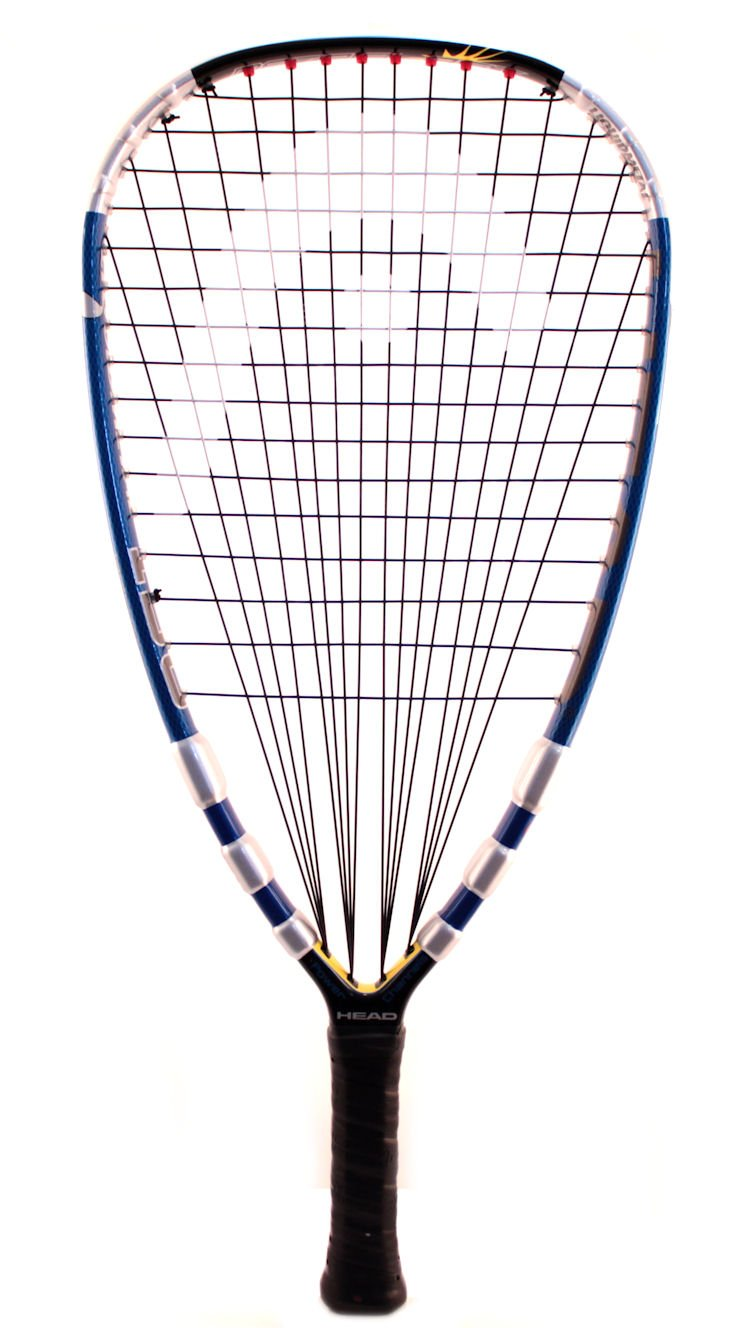 Head Liquid Metal 190 3 5/8'' Grip Racquetball Racquet