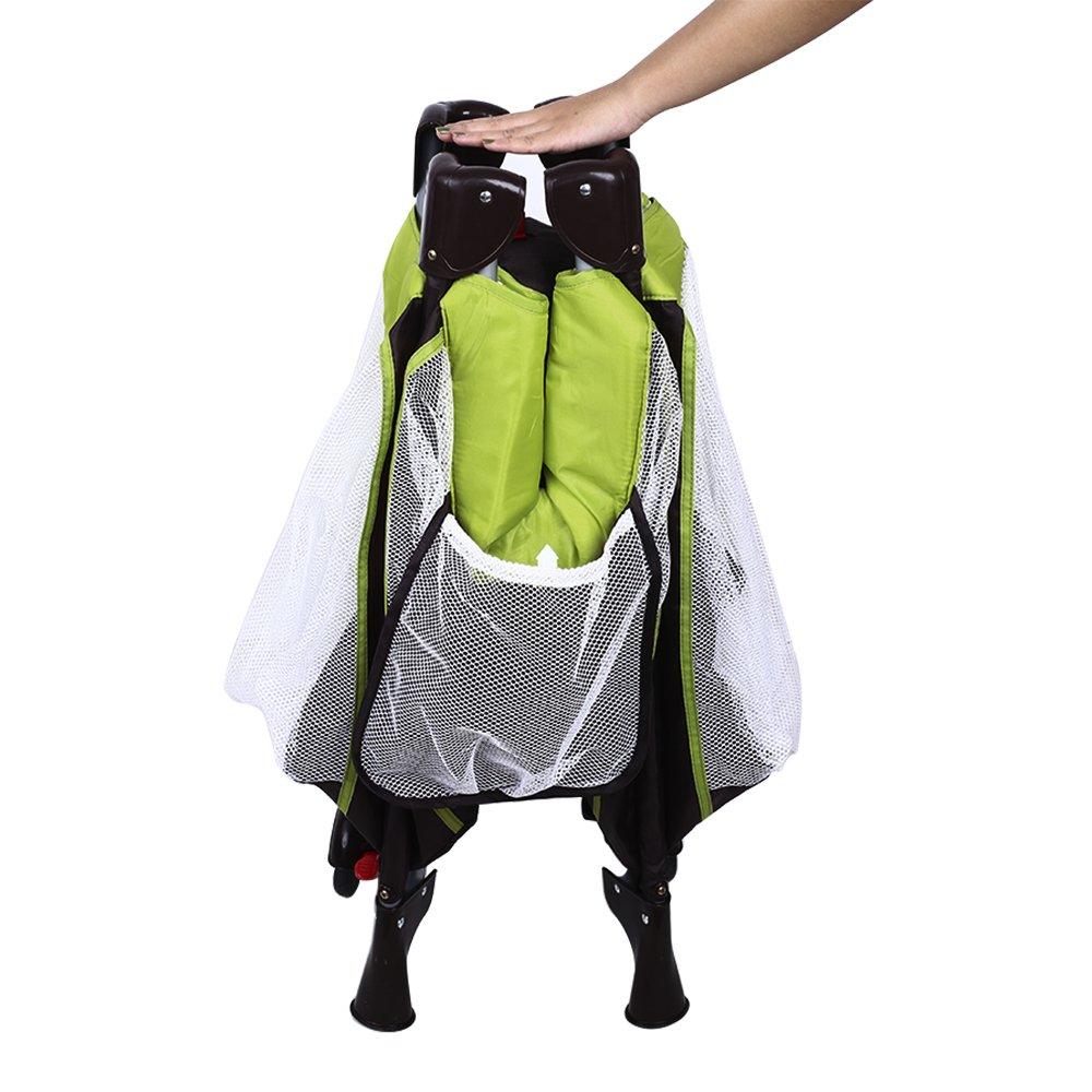 Babybett 2 in 1 Konzept vom Reisebett und Laufstall Klappbett mit