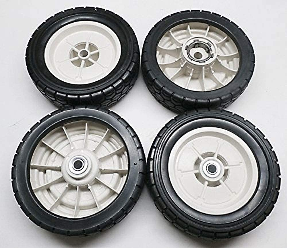 Amazon.com: NUEVO conjunto de 4 ruedas de Honda HR214 HR215 ...