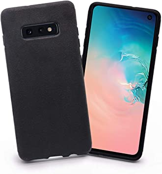 Arrivly Alcantara Funda para Samsung S10e 5,8 Inch (2019) Eco Piel ...