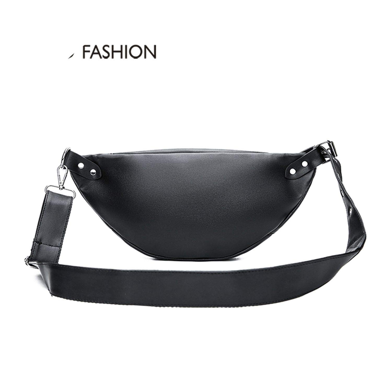 Women Leather Waist Belt Bag P Pattern Belt Pack Waist Bag Small Women Bag Travel Bag Waist Pack Bolsas