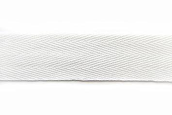 10 mm breit schwarz 50 m Köperband Nahtband Baumwolle Baumwollband