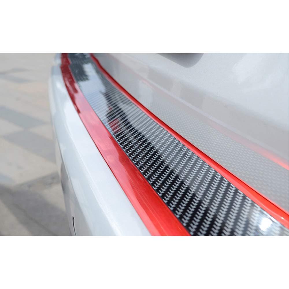 HCDSBSN Auto Aufkleber kohlefaser einstiegsleisten verschlei/ßplattenschutz einstiegsleisten schutzfolie f/ür Hyundai kona 2017 2018 2019 Auto zubeh/ör