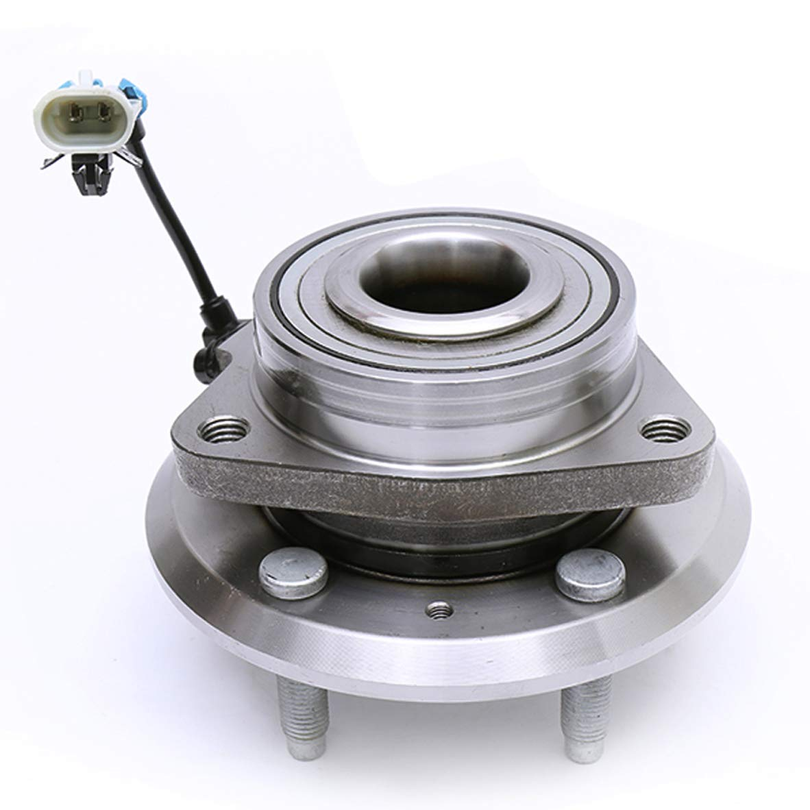 FKG 513276 Front Wheel Bearing Hub Assembly fit for 2007-2009 Chevy Equinox Pontiac Torrent Suzuki XL-7, 2008-2010 Saturn Vue, 2012-2015 Chevy Captiva Sport, 5 Lugs W/ABS by FKG