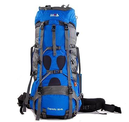 mochilas montaña bolso que sube al aire libre de gran capacidad de caminar impermeables mochila hombres