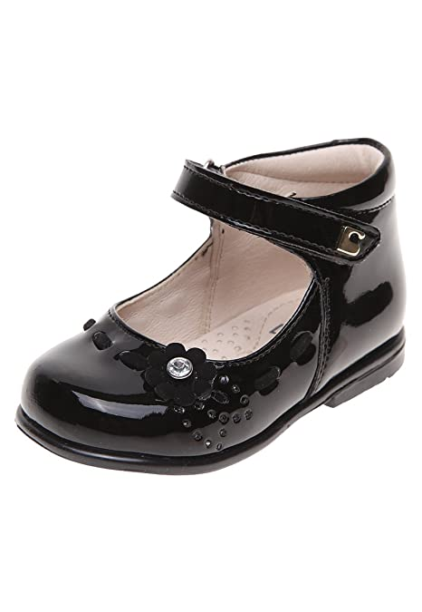 d2f76b95 Coqueta Zapato de Charol Balerina para Niñas: Amazon.com.mx: Ropa ...