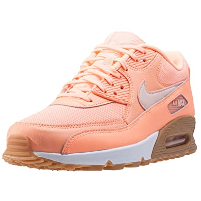4c2a7a36082d Nike Shoes - Wmns Air Max 90 coral pink brown  Amazon.co.uk  Shoes ...