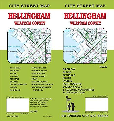 Bellingham / Whatcom County, Washington Street Map