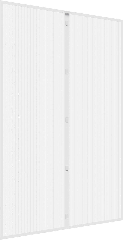 Gris Rideau Aimant/é pour 85x200cm Portes Moustiquaire Enroulable Moustiquaire sur Mesure de Porte Fermeture Automatique pour Couloirs 33x79inch