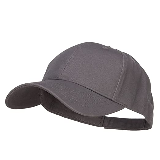 New Big Size Deluxe Cotton Cap - Charcoal (for Big Head) at Amazon ... c9e4f0376a0d