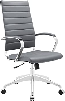 Modway Jive Ribbed High Back Tall Executive Swivel Office Chair - Best Office Chairs Under $400