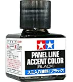 TAMIYA 87131 Panel Line Accent Color Black For Plastic Model Kit