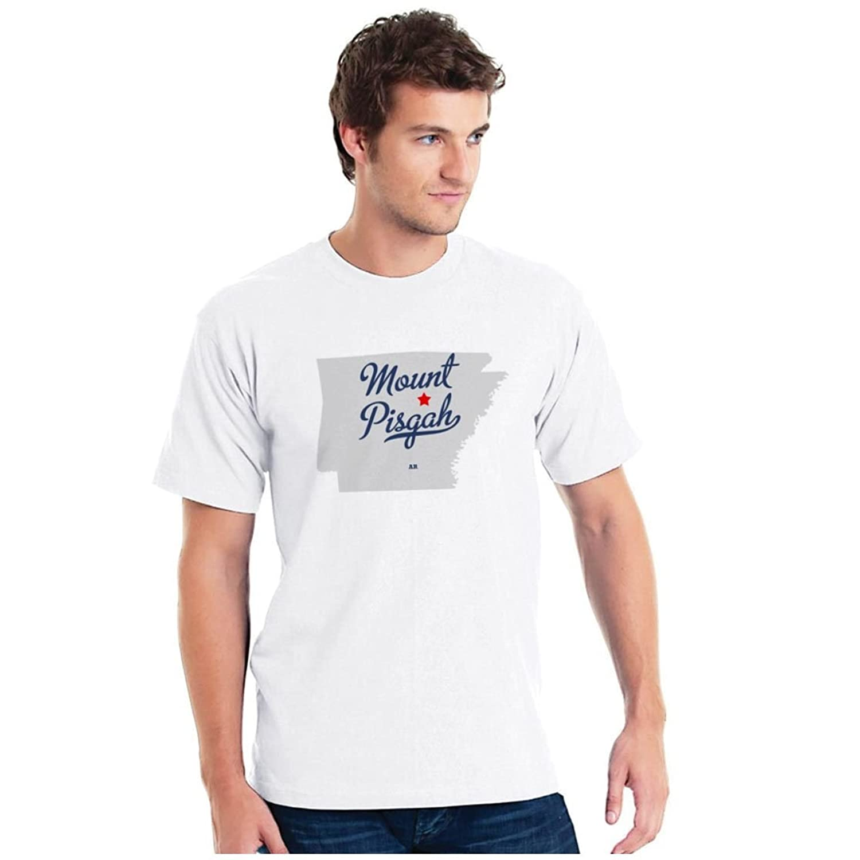 Mount Pisgah Arkansas AR MAP GreatCitees Unisex Souvenir T Shirt