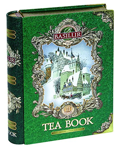 "Basilur Gift Tea Set ""Tea Book # 3"" /Thin metal 100"