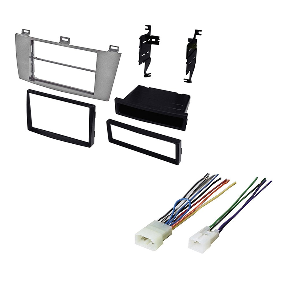 Amazon.com: TOYOTA SOLARA 2004-2008 CAR STEREO RADIO CD PLAYER RECEIVER  INSTALL MOUNTING KIT WIRE HARNESS: Car Electronics