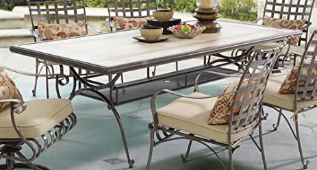 Tile Top Patio Table